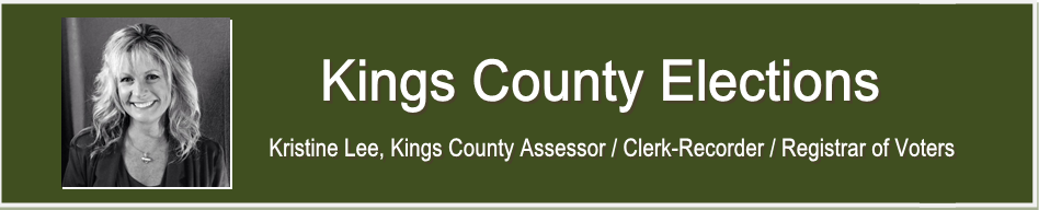 Kings County Elections Banner