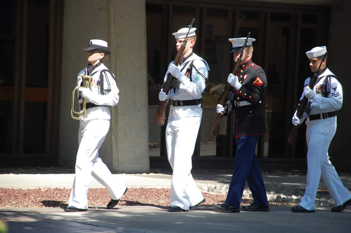NAS Lemoore Color Guard