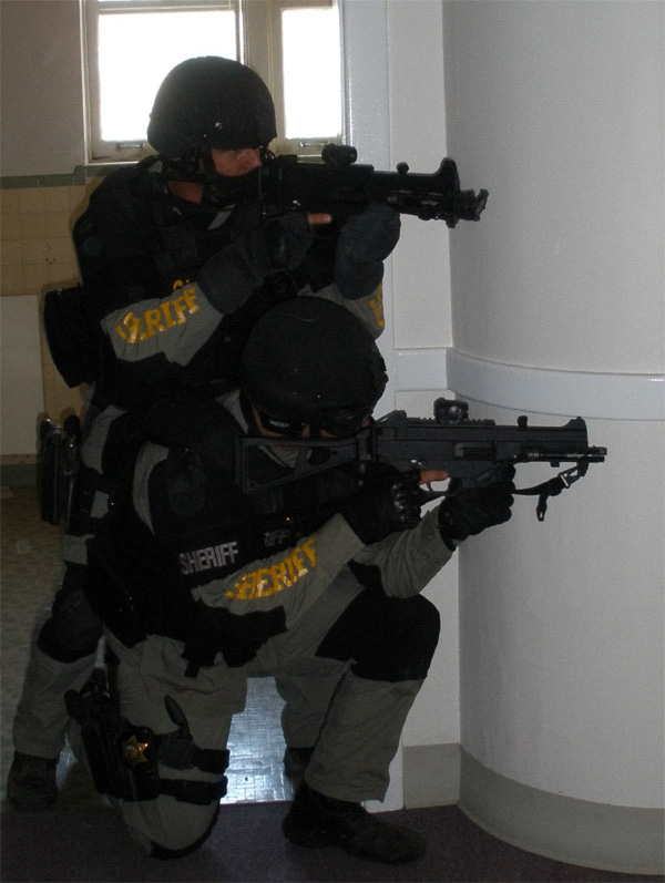 Kings county sheriff swat team