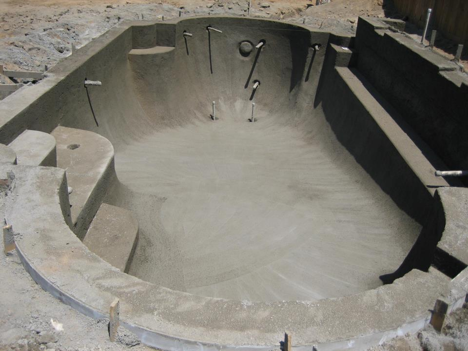 drained pool