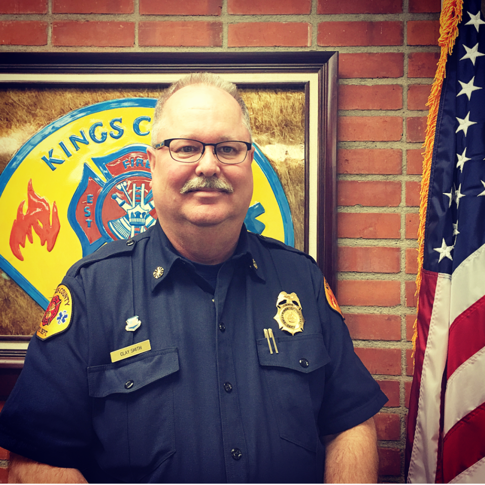 Clay Smith, County Fire Chief