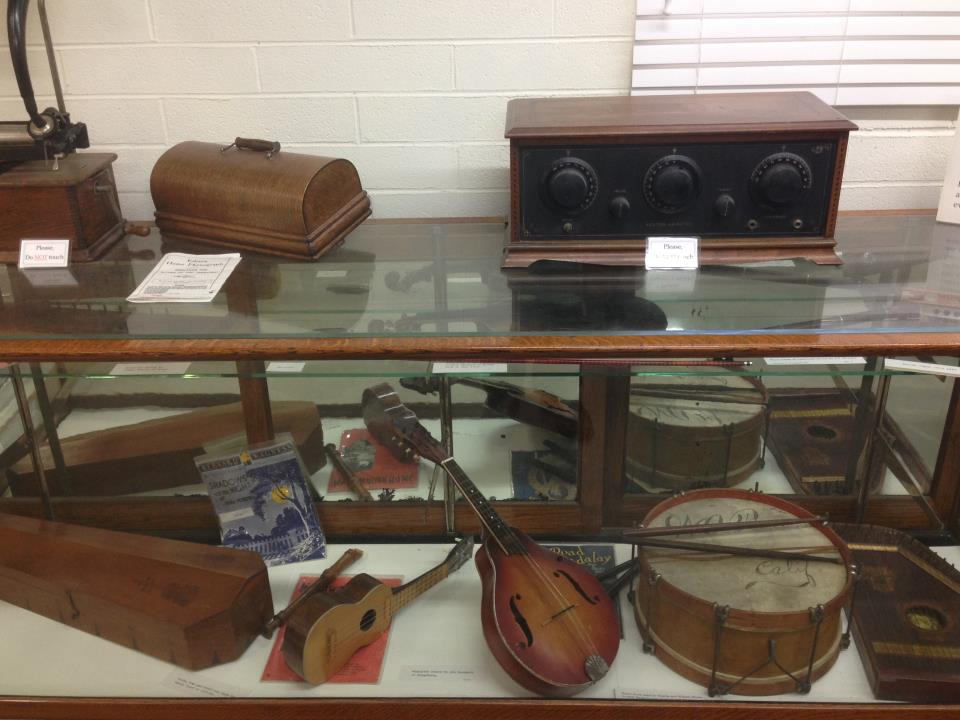 Musical equipment from the 1850's – 1955