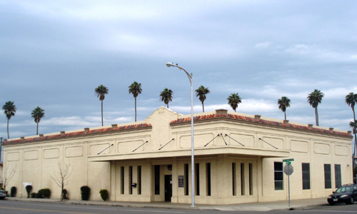 front view of Human Services Agency in Corcoran